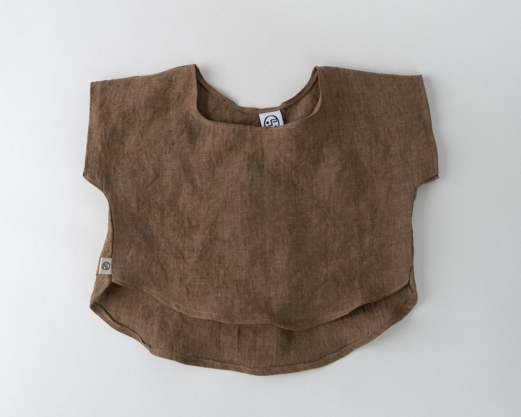 Linen Breezy Top - Cocoa
