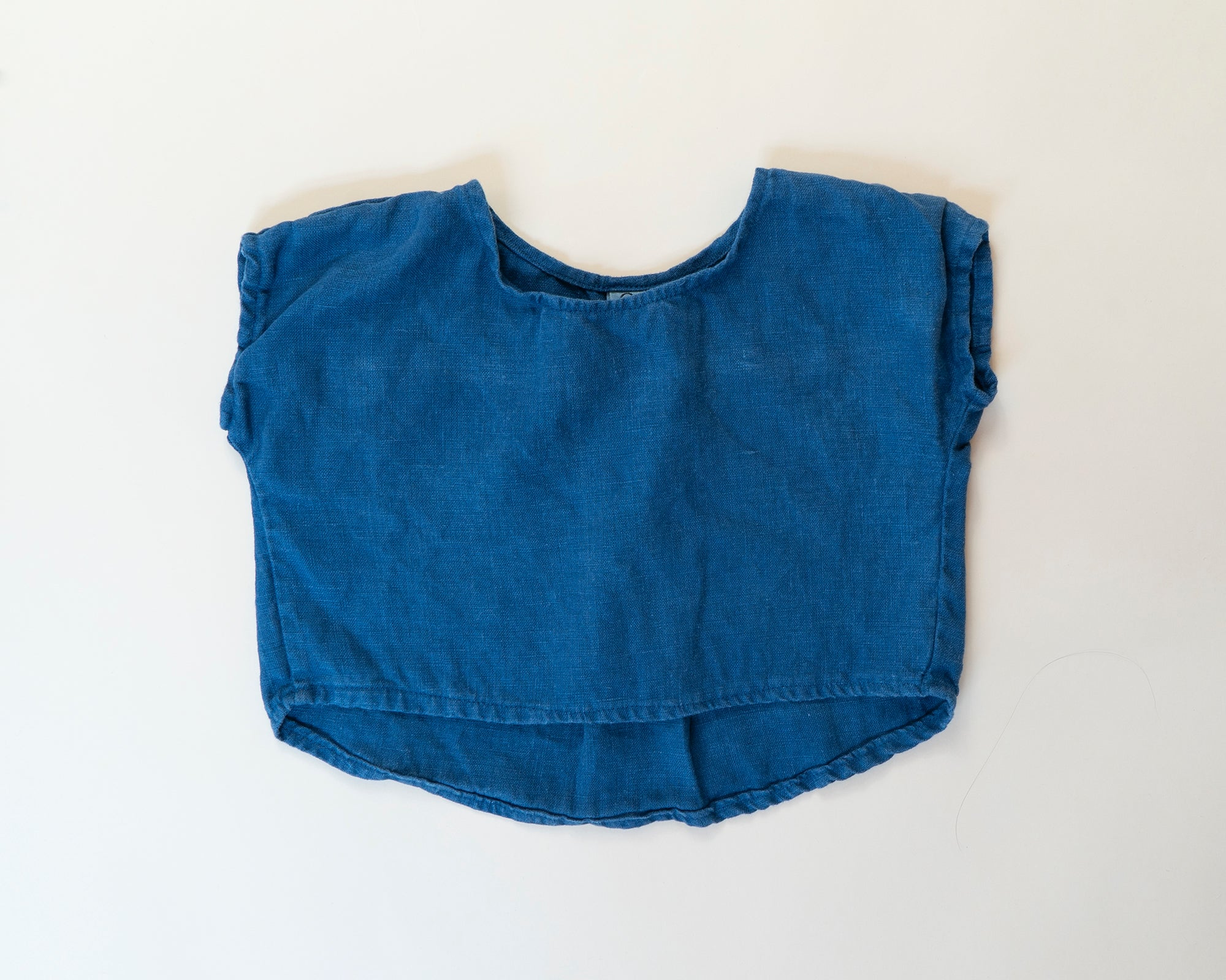 Breezy Top - Indigo Linen