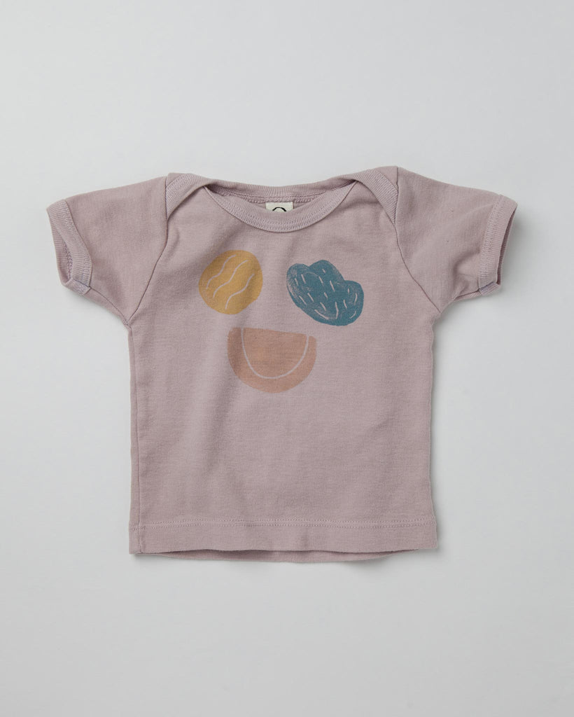 Silly Shapes Organic Tee - Dusk