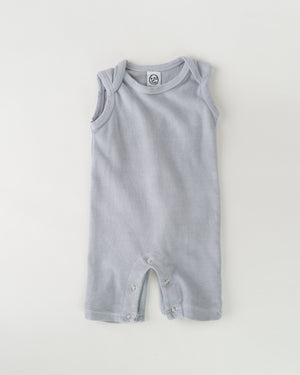 Playa Romper - Lilac Grey