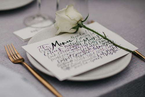 Everything You Need To Know About Creating Your Wedding Stationery