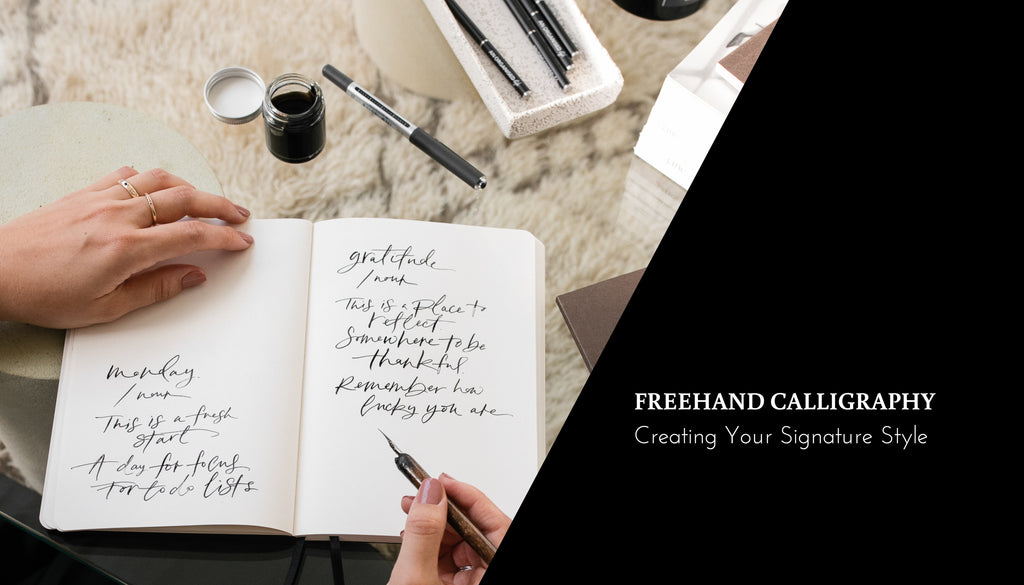 Learn Freehand Calligraphy With Us Online! | Skillshare