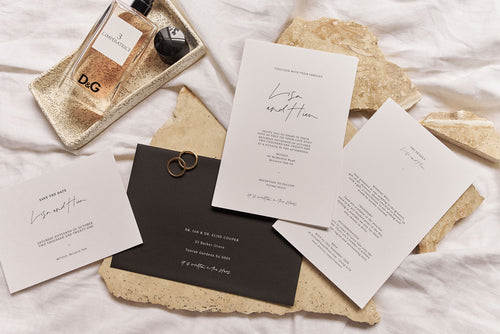 New Wedding Stationery | Our 'Constellation' Series