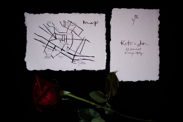 The Blackline Bottega Map The Blackline Bottega Stationery Lelia Scarfiotti Photography