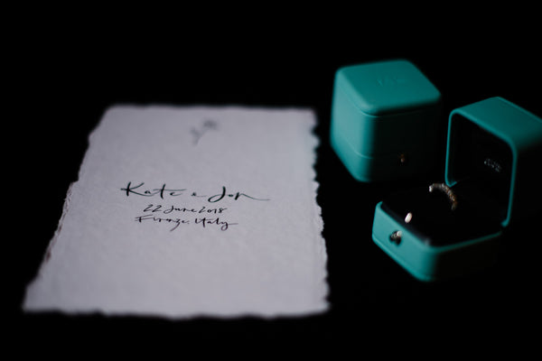 Lelia Scarfiotti Photography, Tiffany & Co Rings, The Blackline Bottega and Kate and Jon Bucceri