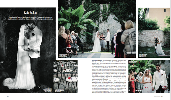 Vogue Brides Australia The Blackline Bottega Lelia Scarfiotti