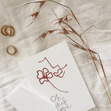 GREETING CARD: Oh, This Love
