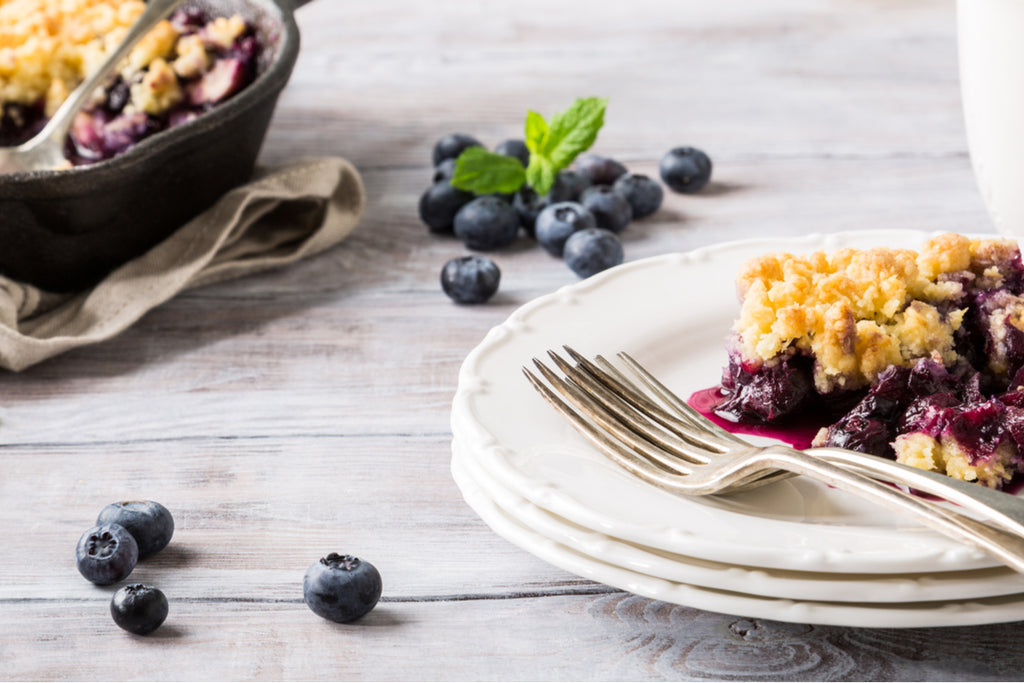 The Blueberry Cobbler Powdered Peanut Butter