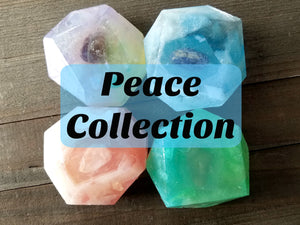 Crystal Reiki Soap - Peace Collection - Spirit Nook