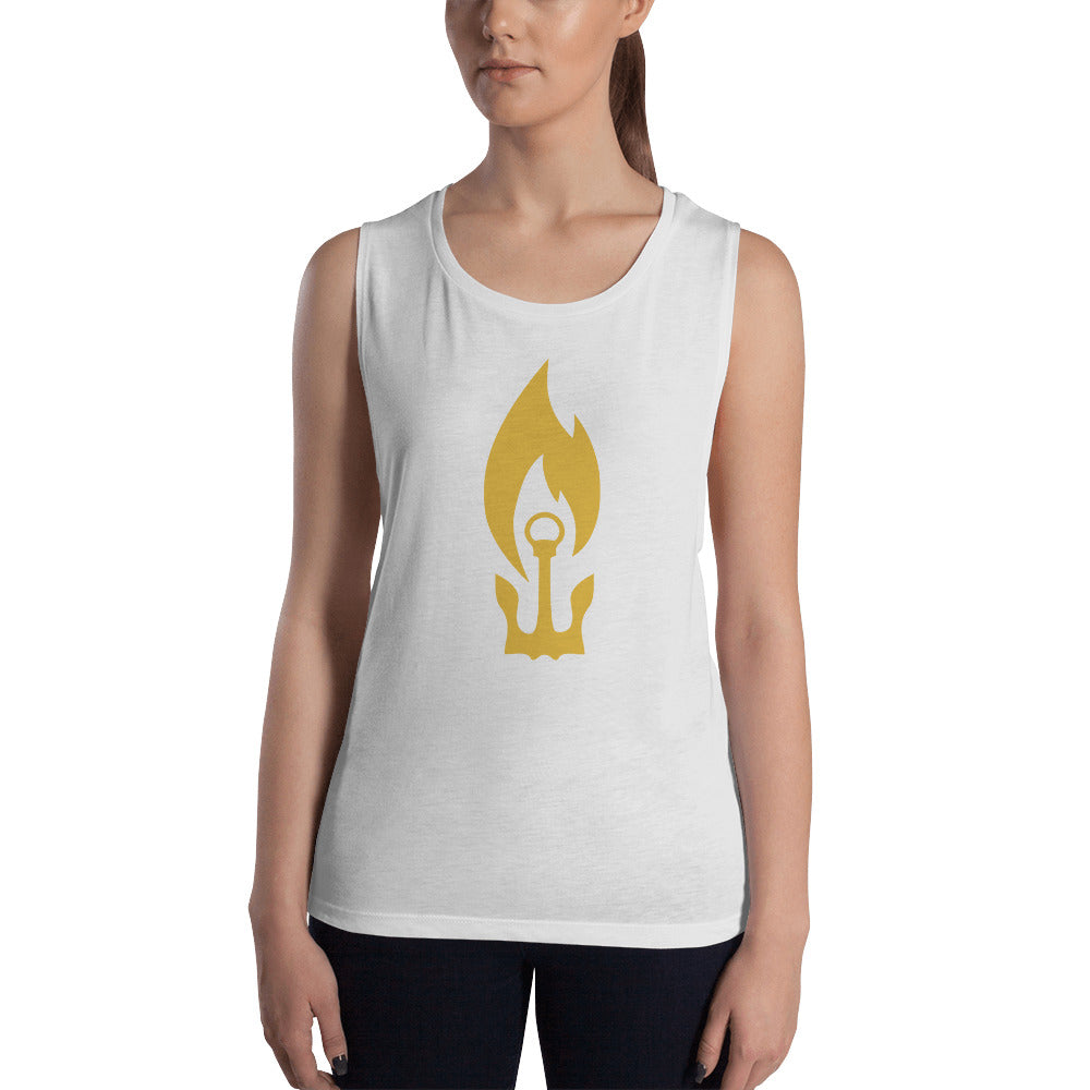 Anchor Donor Ladies' Muscle Tank