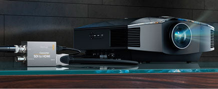 black magic Micro Converter with projector