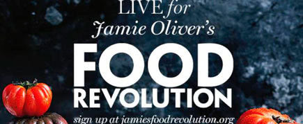 food revolution promotional banner