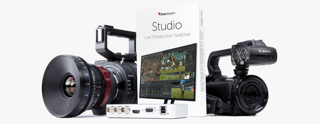 Livestream Studio v2.0 demonstration