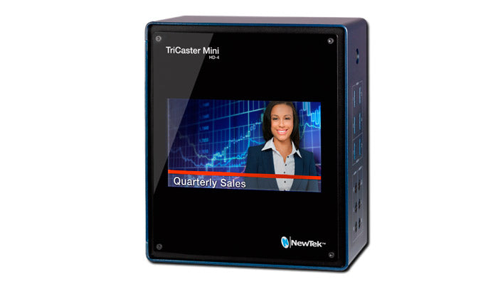 Tricaster Mini wth screen on