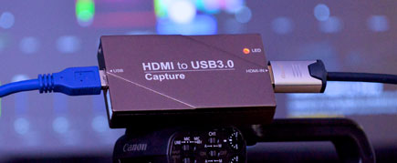Pollicast HDMI to USB3 Capture device