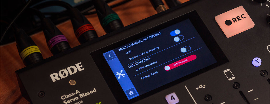 RØDECaster Pro Now Has Multitrack Recording