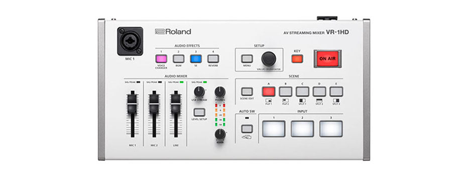 The Roland VR-1HD is Here!