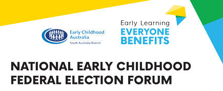 ECA's Federal Election Forum promotional banner