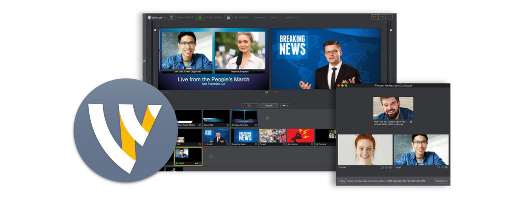 Introducing the award winning Wirecast 8!