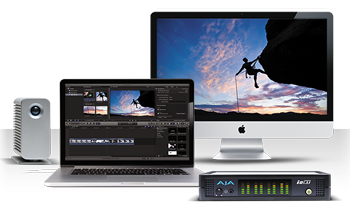 AJA Io XT - 10-bit 3G Dual-Link HD SD I/O via Thunderbolt Devices