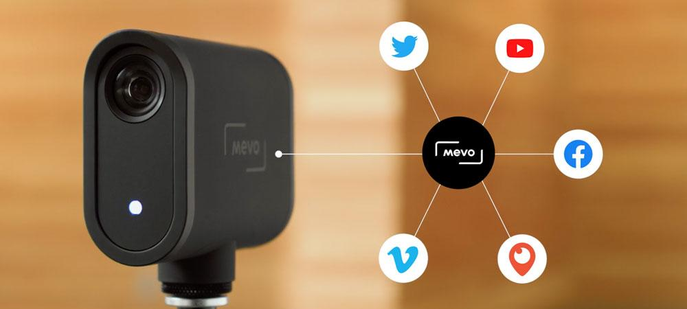 Mevo Start live streaming to socials