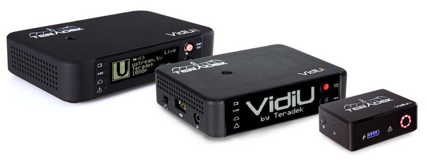 Teradek Vidu Product Family