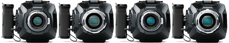 Blackmagic URSA Mini range