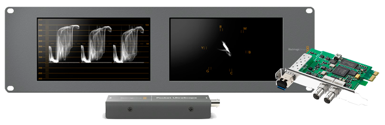 Blackmagic UltraScope - PCI Express Card and Software Package Image 1