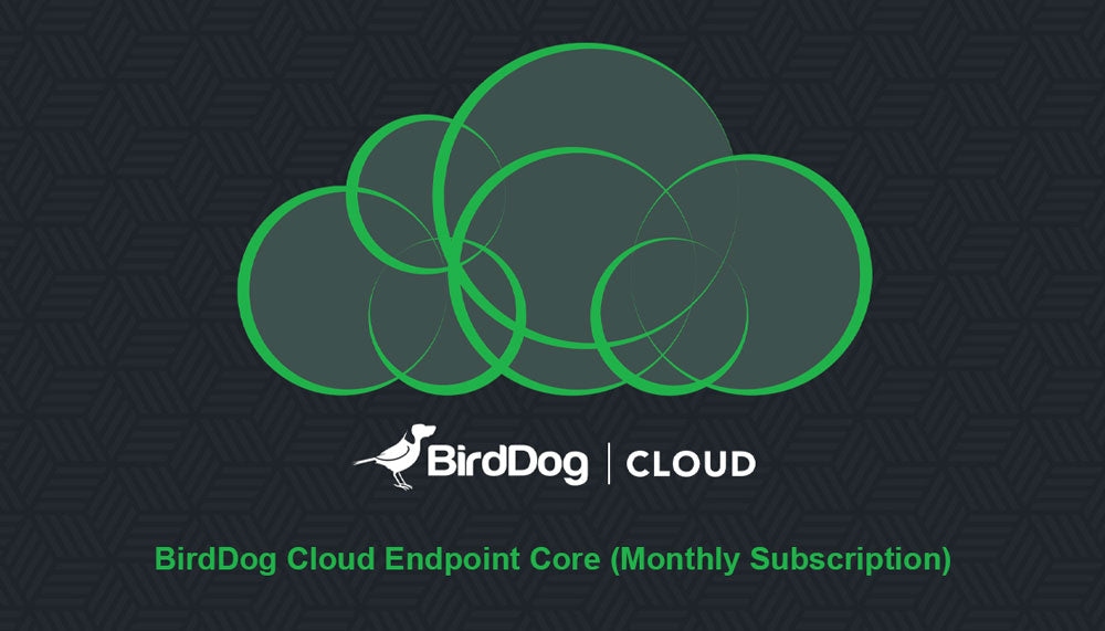 BirdDog Cloud Endpoint Core (Monthly Subscription)