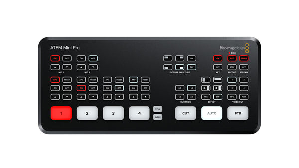 Blackmagic Design ATEM Mini Pro Top