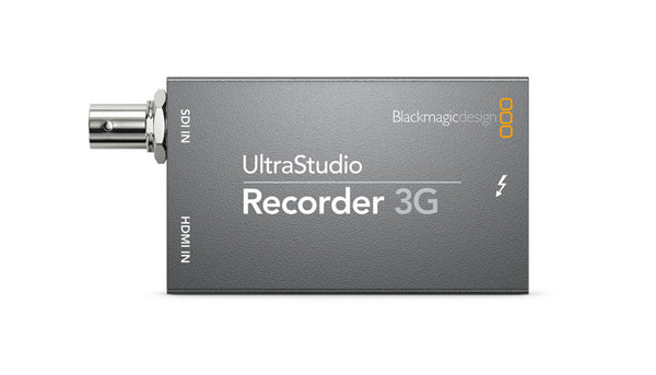 Blackmagic Design UltraStudio Recorder 3G front
