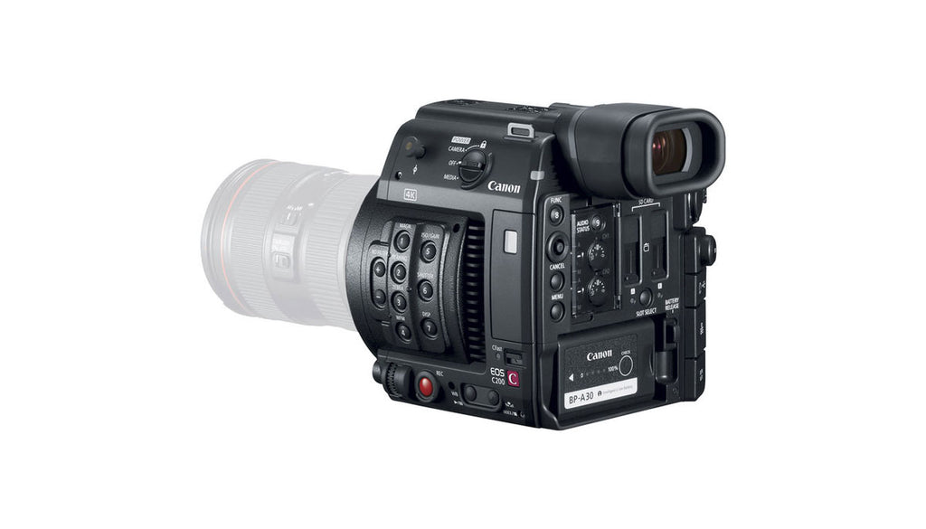Canon EOS C200 – The Streaming Guys