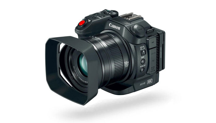 Canon XC15 4K Professional Video Camera Hero Image