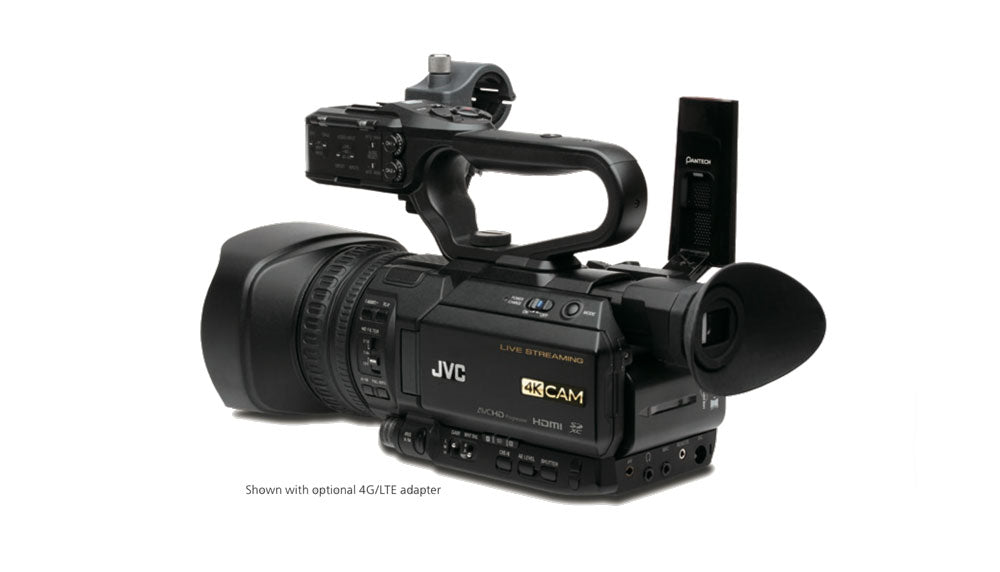 JVC GY-HM250E 4K Live Streaming Camcorder