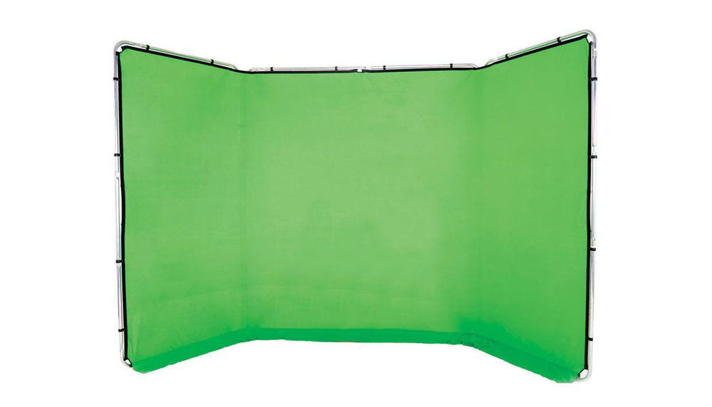 Lastolite Panoramic Background Chromakey Green - 4m