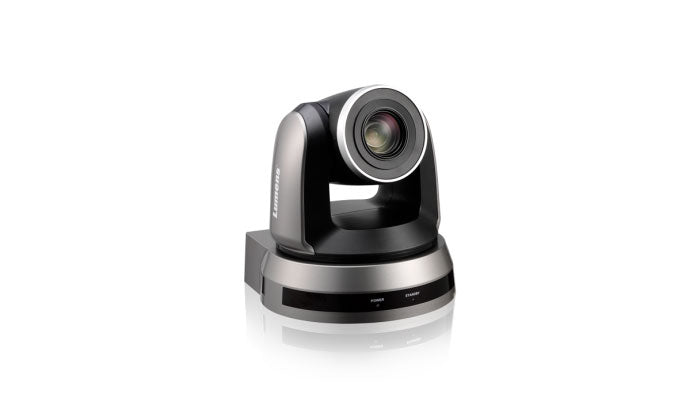 Lumens VC-A50P Full HD IP PTZ Camera black front hero