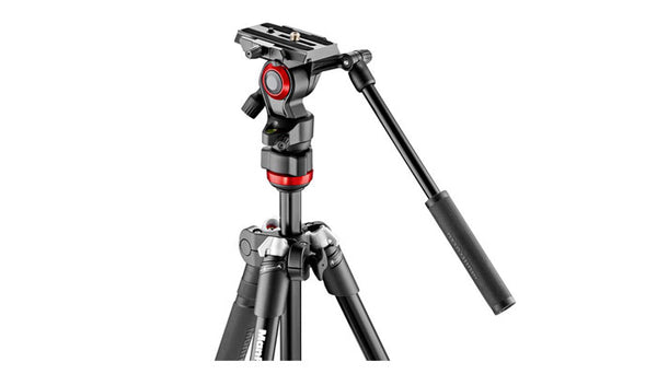 Manfrotto Befree Live Video Tripod Kit - Aluminium