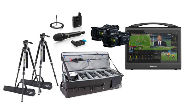 Multi Camera Pro Live Streaming Kit - Premium