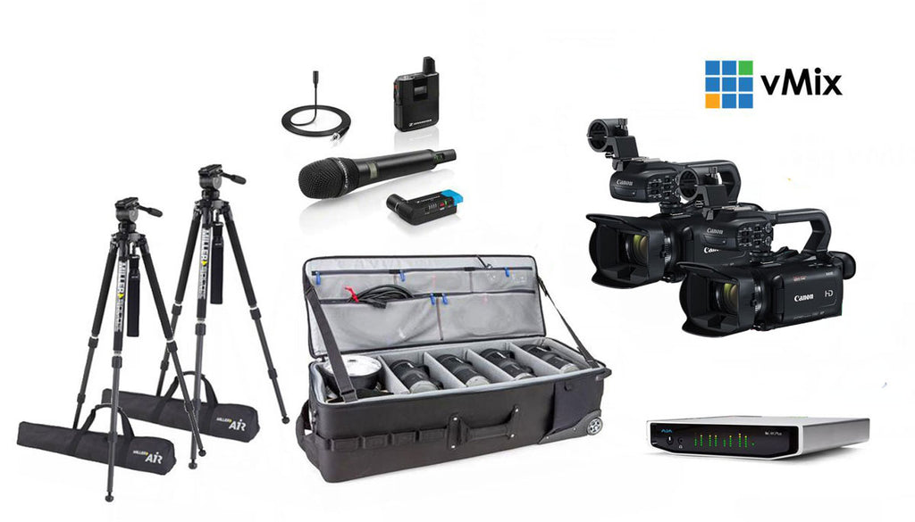 Multi Camera Pro Live Streaming Kit - Portable