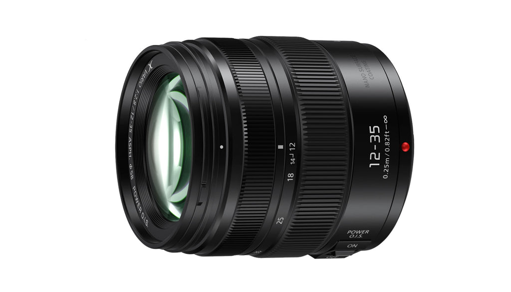 Panasonic Lumix G X Vario 12-35mm f/2.8 Mk II Lens Hero