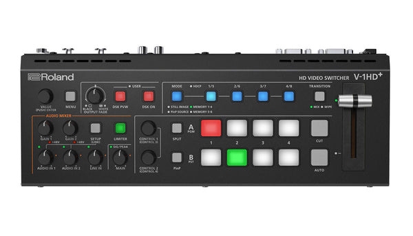 Roland V-1HD+ HD Video Switcher top