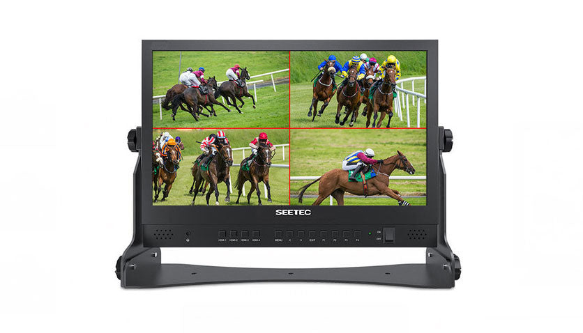 "Seetec 15.6"" IPS Panel HDMI Quad Link Director Monitor hero shot"