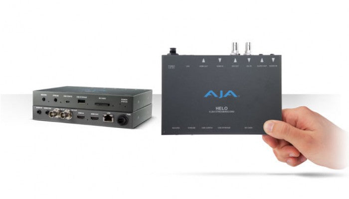AJA Helo - Streaming and Recording Appliance