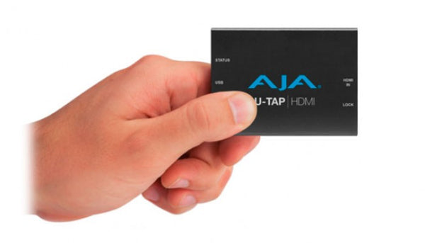 AJA U-TAP HDMI HD/SD USB 3.0 Capture Device Hero