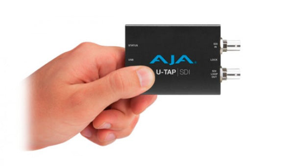 AJA U-TAP SDI HD/SD USB 3.0 Capture Device Hero