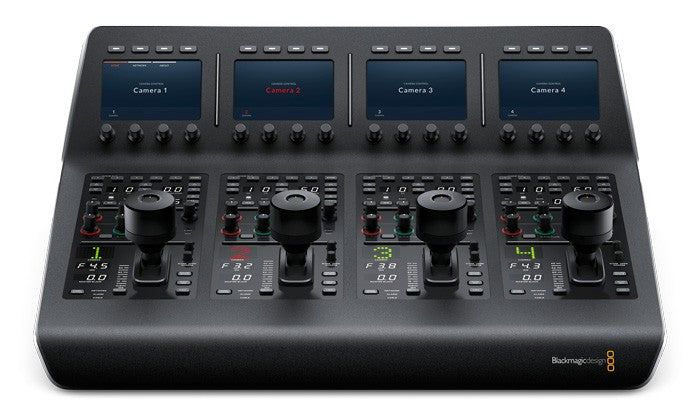 Blackmagic ATEM Camera Control Panel Hero