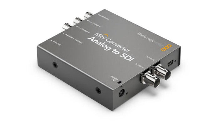 Blackmagic Design Mini Converter Analog to SDI 2 Hero