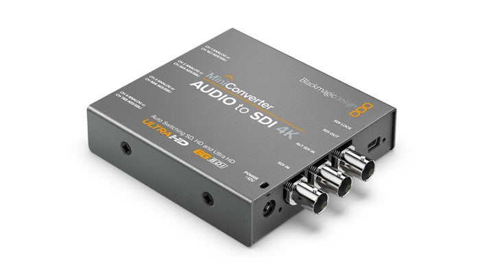 Blackmagic Mini Converter SDI to Audio 4K Hero