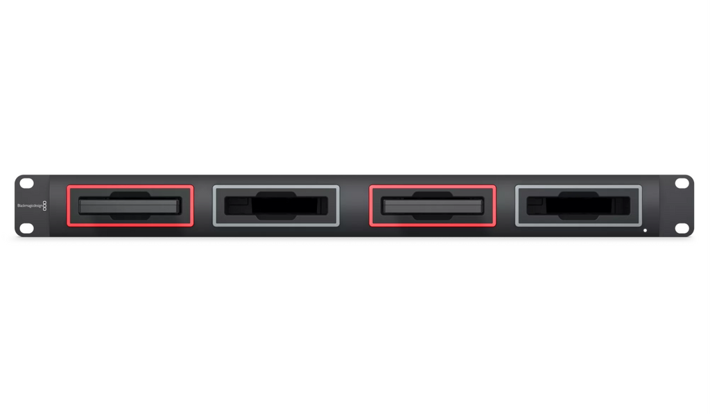 Blackmagic MultiDock 10G Hero