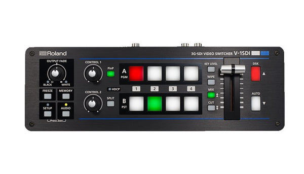 Roland V-1SDI 3G-SDI Video Switcher top